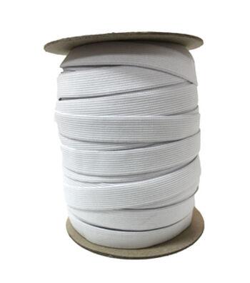 """Pellon 3/4"""" x 144yd Spool  Knit Elastic- White"""