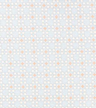 Wide Flannel Fabric -Georgia Geometric