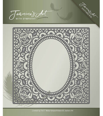 Find It Trading Jeanine's Art with Sympathy Cutting Die-Rose Frame