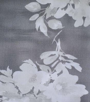 Gianna Printed Organza Fabric 54''-Watercolor Floral