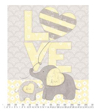 Nursery Panel Fabric-Love
