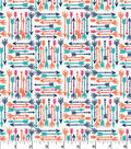 Quilter\u0027s Showcase Cotton Fabric -Arrows on White