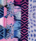 Cotton Fabric Strip Rolls 2.5\u0027\u0027x42\u0027\u0027-Purple Ikat