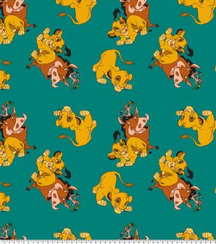 Disney Lion King Fleece Fabric-Hakuna Matata