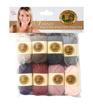 Lion Brand Vanna's Palette Bonbons Yarn 8/Pkg- Romantic