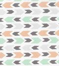 Nursery Cotton Fabric -Safari Arrows
