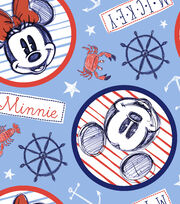 Disney Mickey & Minnie Mouse Fleece Fabric 59''-Nautical at Sea, , hi-res