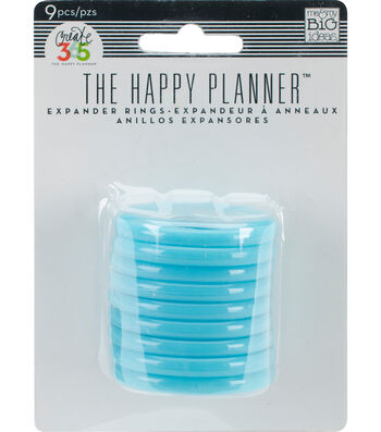 Me & My Big Ideas 9pcs Create 365 Planner Expander Rings