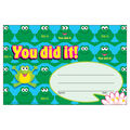 Trend Enterprises Inc. You did it! Frogs Recognition Awards, 30/Pack