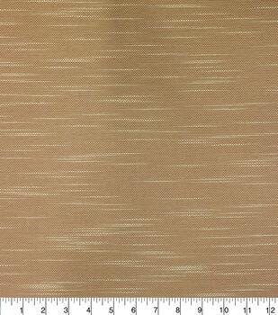 Solarium Outdoor Fabric-Woven Slub Toasted Coconut