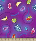 Nestle Laffy Taffy Print Fabric