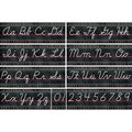 Teacher Created Resources Chalkboard Bright Cursive Writing Bulletin Set