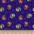 Disney Villains Cotton Fabric-Toss Purple