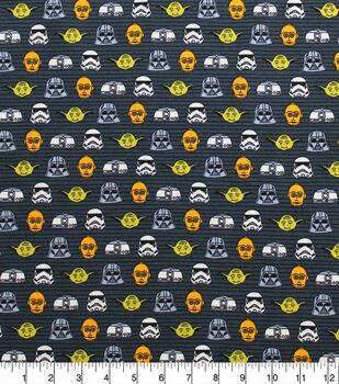 Star Wars Knit Fabric-Doodle Head