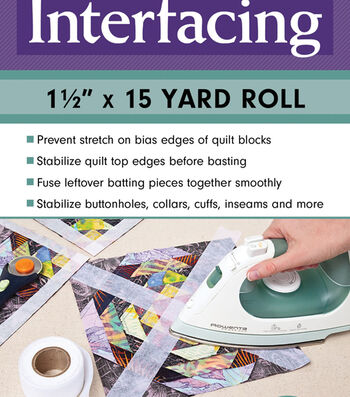 Make It Simpler Fusible Interfacing Roll 1.5''x15 yds.