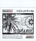 Darkroom Door Cling Stamp 4.5\u0022X3\u0022-Explore