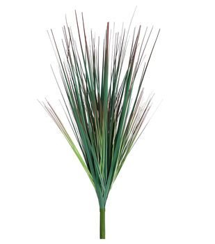 Fresh Picked Spring 27'' Onion Grass Bush-Coral & Green