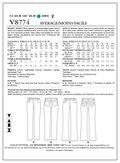 Mccall Pattern V8774 Aax (4-6-8-Vogue Pattern