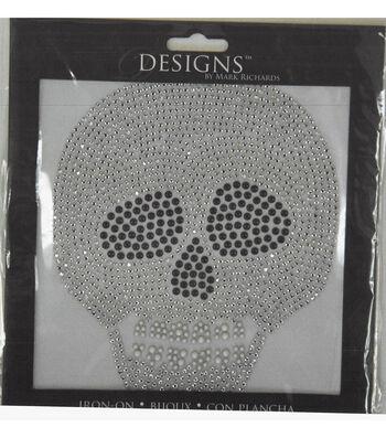 Designs Iron-On-Skull
