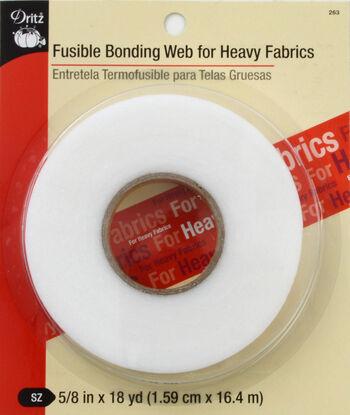 "Dritz Fusible Bonding Web Heavy White 5/8""X18Yds"