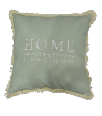 Simply Spring Pillow-Home Definition