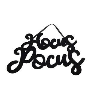 Maker's Halloween Hocus Pocus Wall Decor