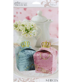Jolee's Boutique Parisian Royal Crown Favor Boxes