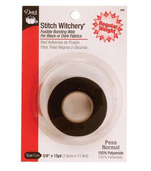 "Dritz Stitch Witchery Fusible Bonding Web 0.63"" Wide x 13Yds"