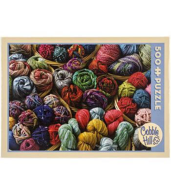 Cobble Hill 500pcs 24''x18'' Jigsaw Puzzle-Balls Of Yarn