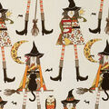 Halloween Cotton Fabric-Witches in Stitches