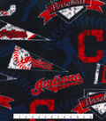 Cleveland Indians Fleece Fabric -Vintage