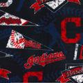 Cleveland Indians Fleece Fabric-Vintage