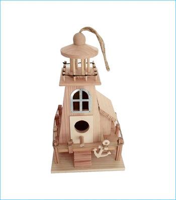 Camp Ann Lighthouse Birdhouse