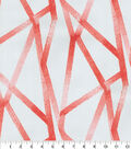 Genevieve Gorder Outdoor Fabric-Intersections Coral