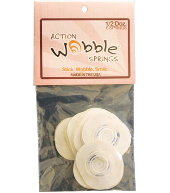 Action Wobble Springs 6 Per Package