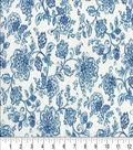 Keepsake Calico Cotton Fabric 44\u0022-Tonality Denim