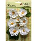 Botanica Ranunculus Flowers 1\u0022 To 1.7\u0022-White