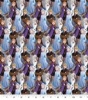 Disney Frozen 2 Cotton Fabric-Digital Packed, , hi-res