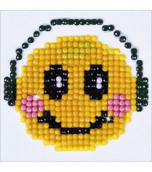 Diamond Dotz Diamond Embroidery Art Kit 4.75''X4.75''-Smiling Groove