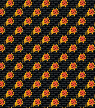 Phoenix Suns Cotton Fabric Logo Toss Joann