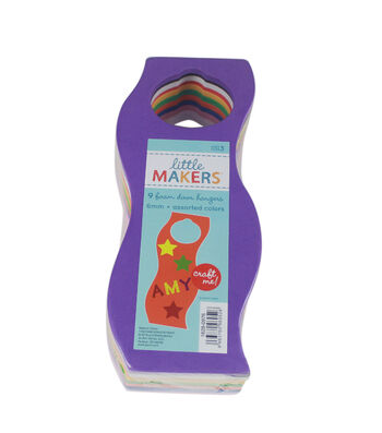 Little Makers Door Hanger Foamies Value Pack Wavy-9Ct