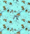 Cotton Flannel Fabric 43\u0027\u0027-Realtree on Turquoise