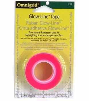 "Omnigrid 0.25"" x 21 Yds Glow Line Tape"