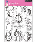 Penny Black Clear Stamps 5\u0022X7.5\u0022 Sheet-Party Time