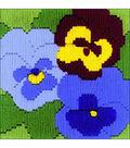 RIOLIS Counted Cross Stitch Kit 4\u0022X4\u0022-Three Pansies