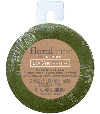 Lia Griffith Fern & Moss Floral Tapes