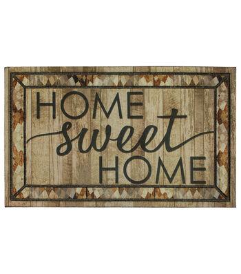 Mohawk Homes Rustic Sweet Home Welcome Doormat
