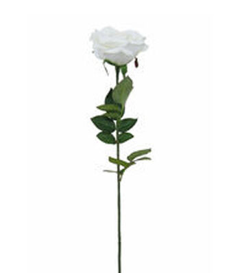 Bloom Room Rose Stem-White