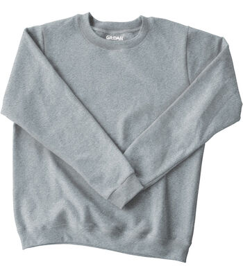 Gildan Adult Crew Fleece Large