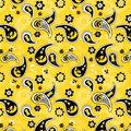 University of Iowa Cotton Fabric-Paisley